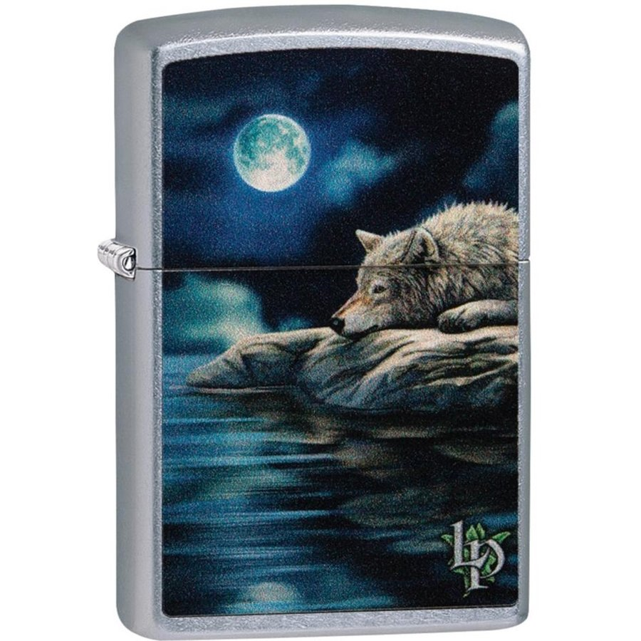 Aansteker Zippo Lisa Parker Wolf Water Moon