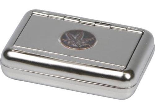 Tobacco Tin Cannabis Emblem