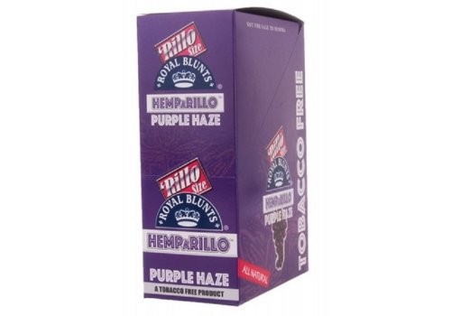 Display Hemparillo Hemp Wraps Purple Haze