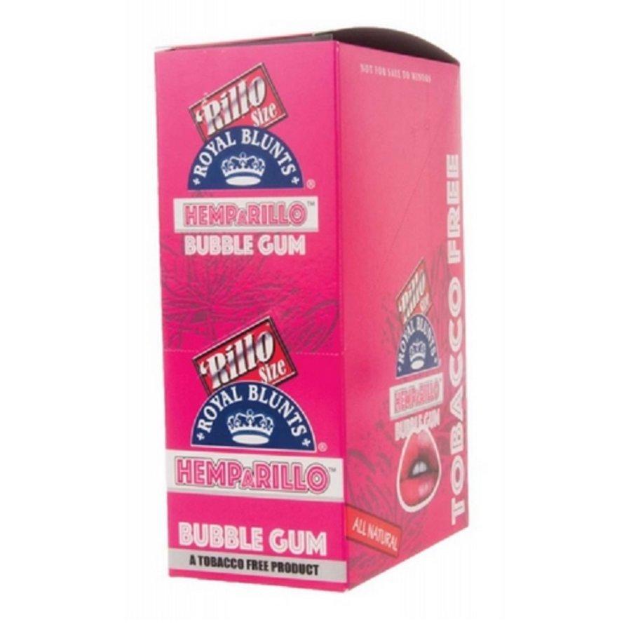 Display Hemparillo Hemp Wraps Bubblegum