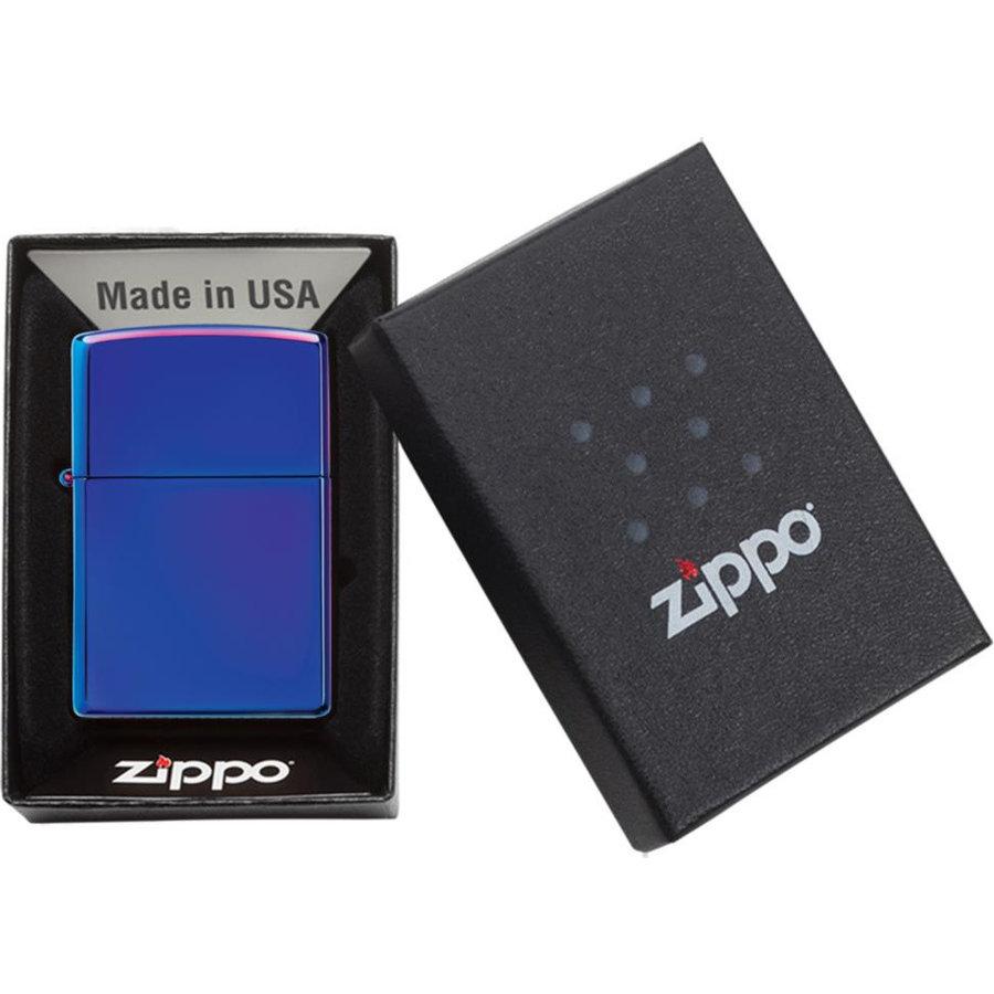 Aansteker Zippo Indigo High Polished