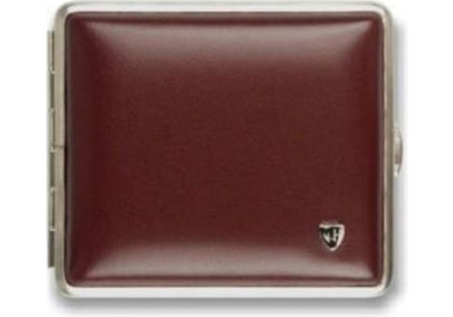 Cigarette Case Soft Leather Red