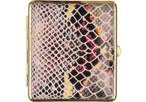 Cigarette Case Leather Snake