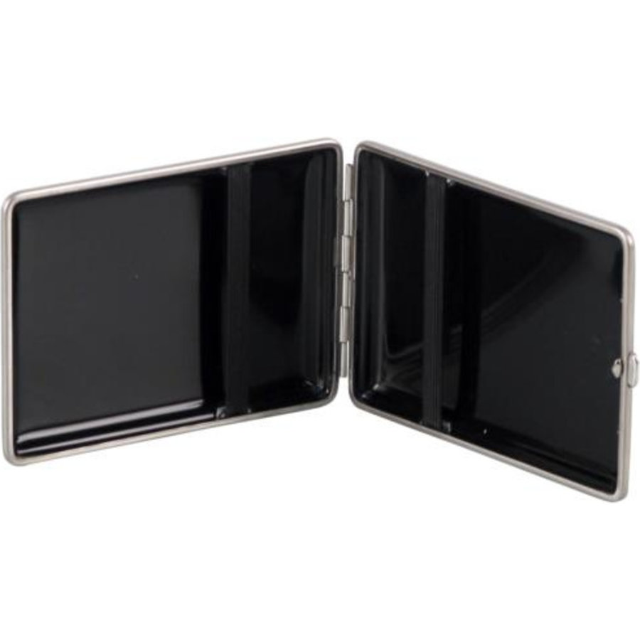 Cigarette Case Leather Carbon-Look
