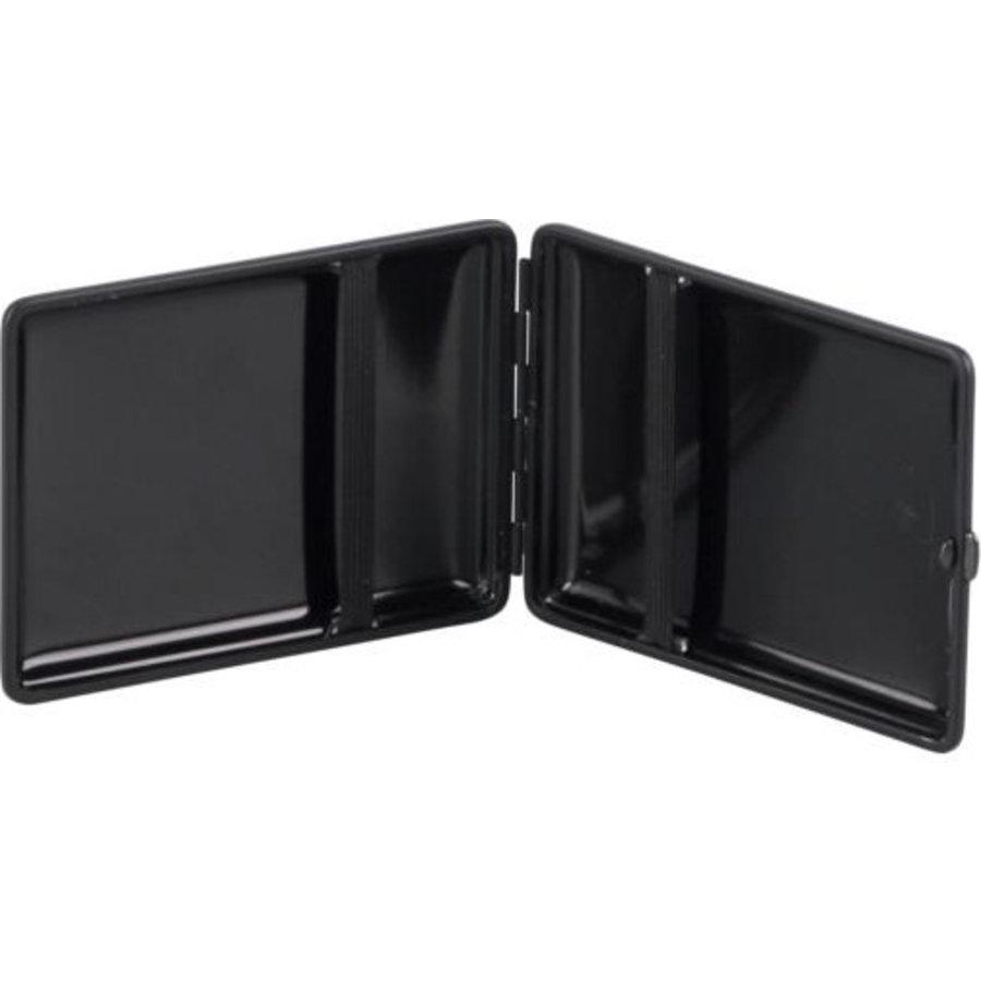 Cigarette Case Leather Carbon-Look