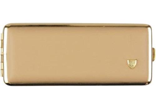 Cigarette Case Soft Leather Creme (8)