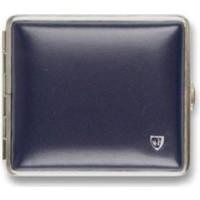 Cigarette Case Soft Leather Blue