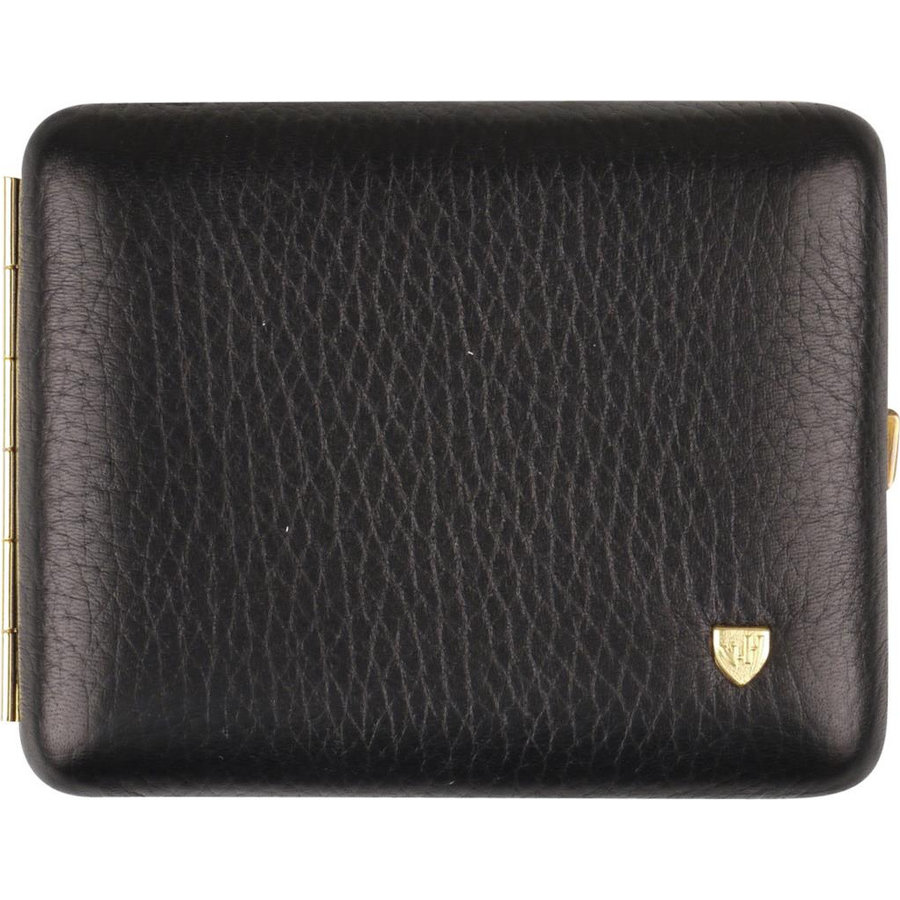 Cigarette Case Leather Black
