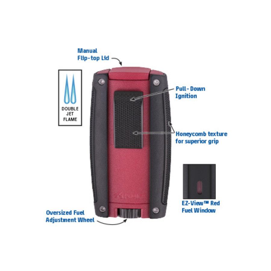 Lighter Xikar Turismo Matte Red