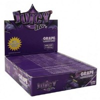 Juicy Jay's Grape Kingsize Slim Vloei Box