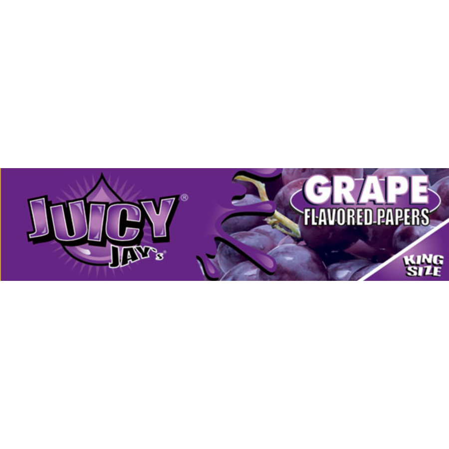 Juicy Jay's Grape Kingsize Slim Vloei