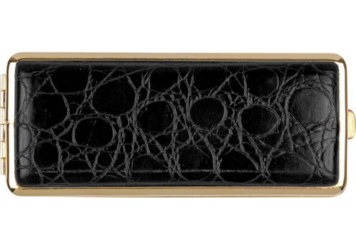 Cigarette Case Kroko Black (8)