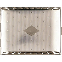 Cigarette Case Chrome Stars