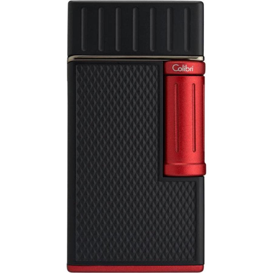 Lighter Colibri Julius Black Red