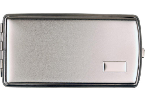 Cigarette Case Satin Chrome (120 mm.)