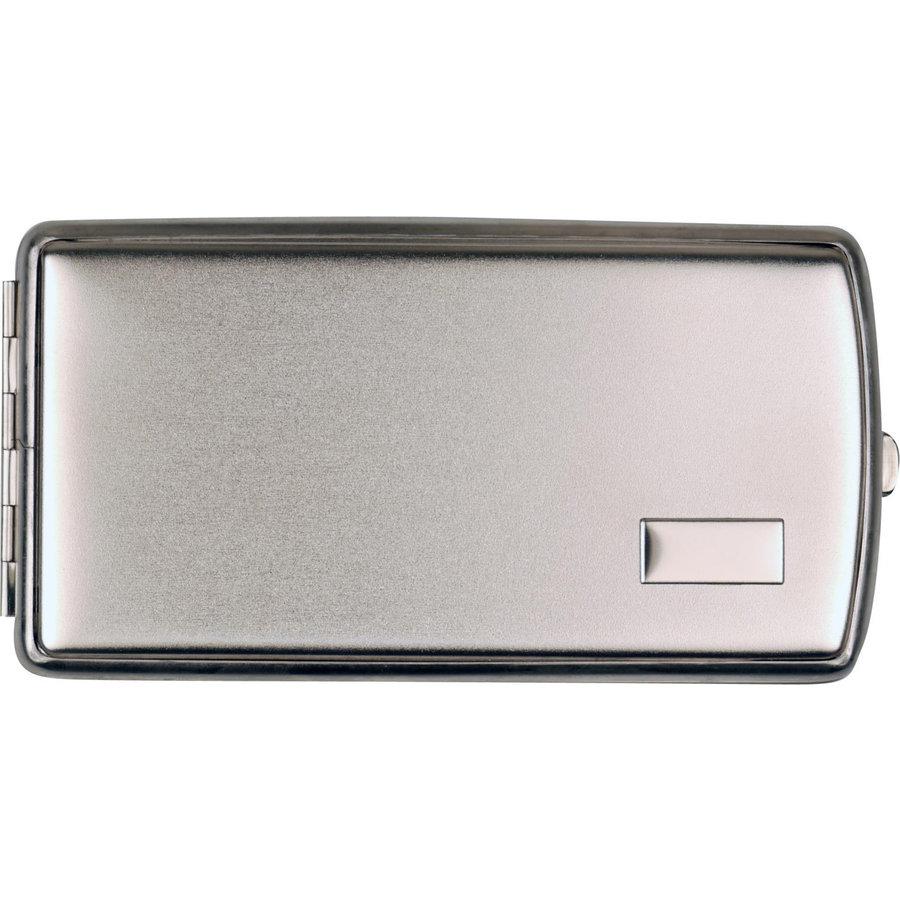 Cigarette Case Satin Chrome (120 mm.)