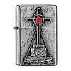 Zippo Aansteker Zippo Peak Cross Emblem