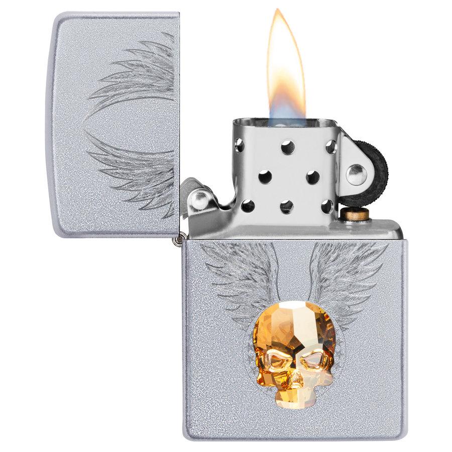 Aansteker Zippo Golden Skull