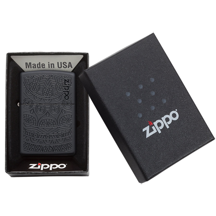 Lighter Zippo Two Tone Design