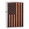 Zippo Aansteker Zippo Woodchuck Emblem USA Flag