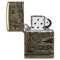 Aansteker Zippo Armor Case Ouija Board Multi Cut