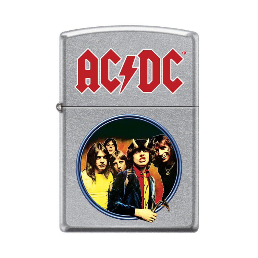 Lighter Zippo AC/DC Group Round