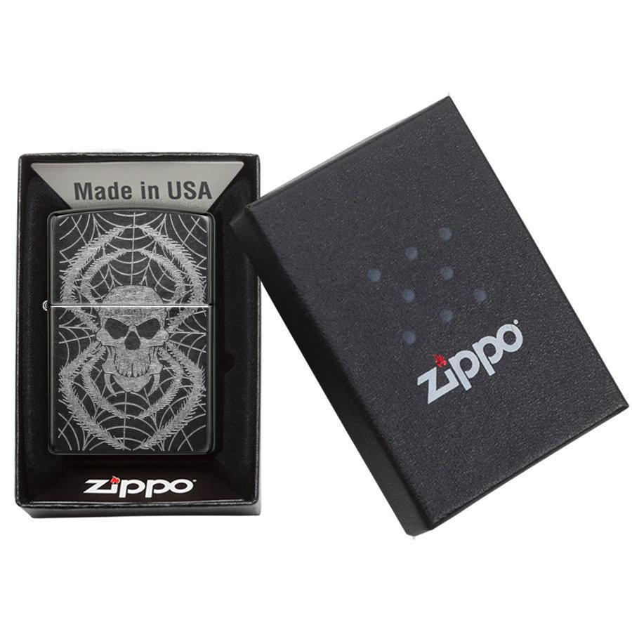 Lighter Zippo Spider Skull