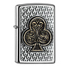 Zippo Lighter Zippo Playing Card Clubs