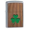 Zippo Aansteker Zippo Woodchuck Emblem Clover