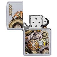 Lighter Zippo Metallic Gears