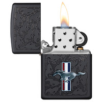 Lighter Zippo Ford Mustang Wall