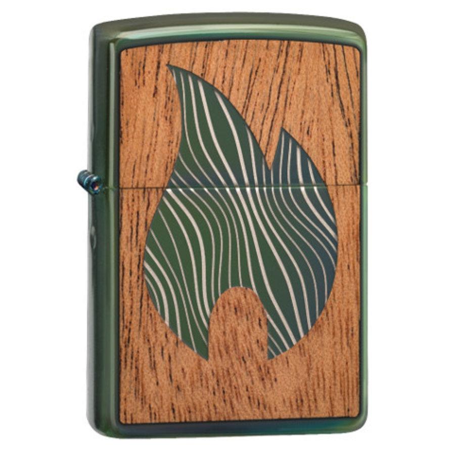 Aansteker Zippo Woodchuck Emblem Flame