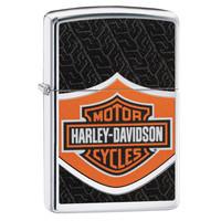 Lighter Zippo Harley Davidson Logo