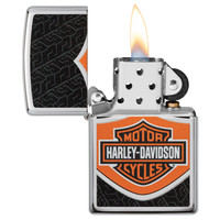 Aansteker Zippo Harley Davidson Logo