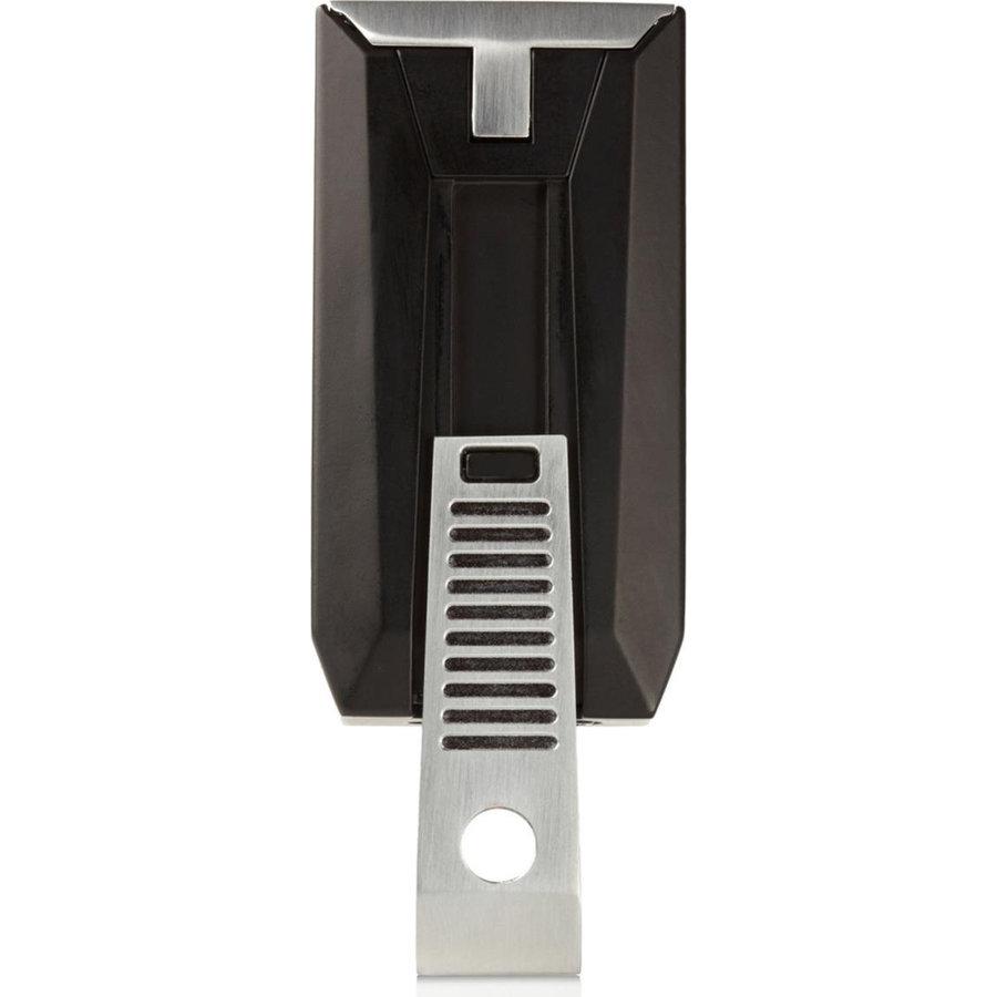 Aansteker Colibri Slide Black/Chrome