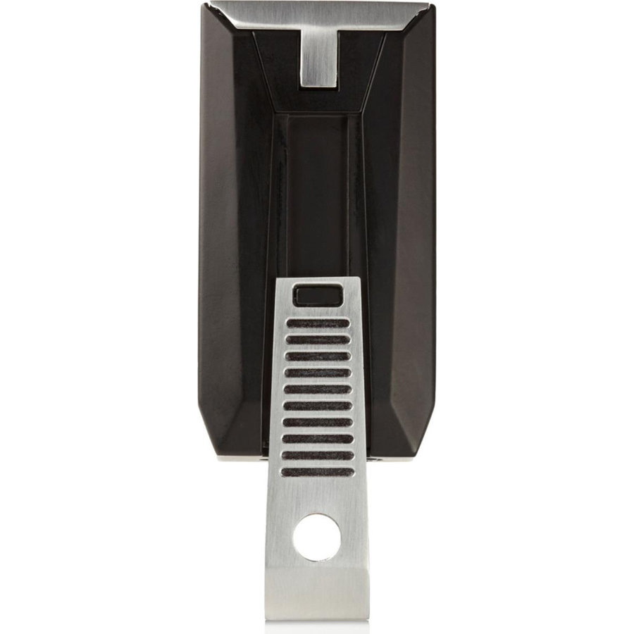 Lighter Colibri Slide Black/Chrome