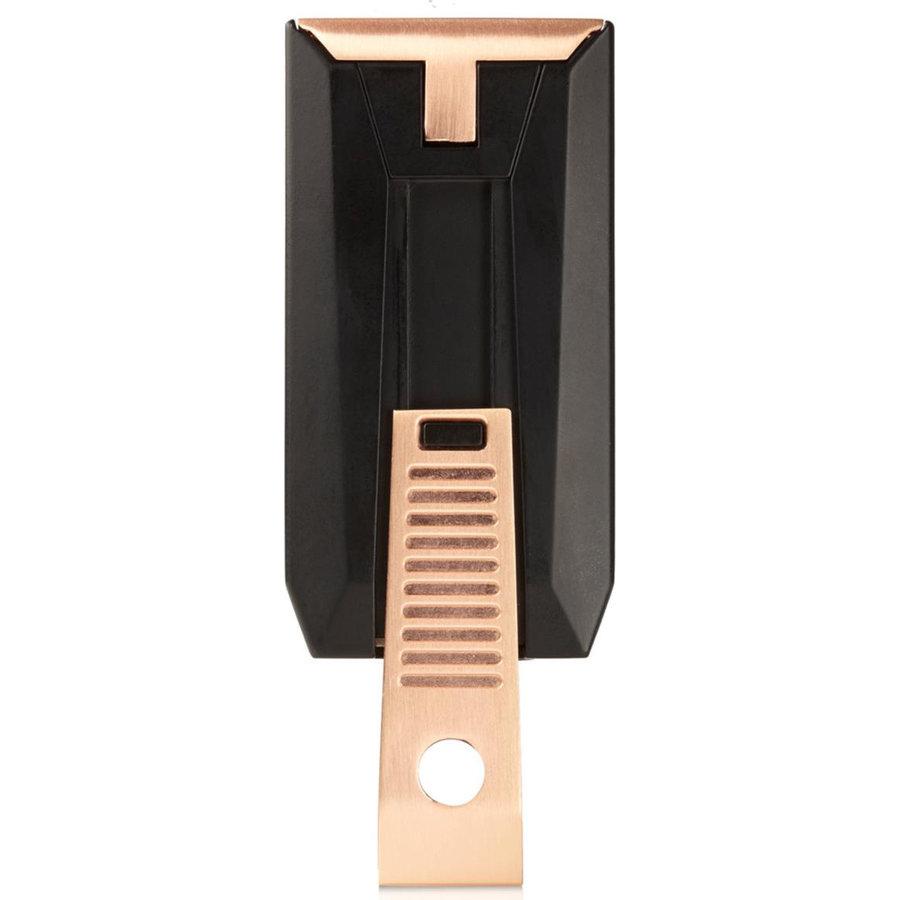 Lighter Colibri Slide Black/Rose Gold