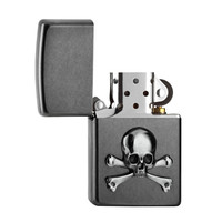 Lighter Zippo Skull and Bones Emblem