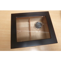 Humidor Black with Window