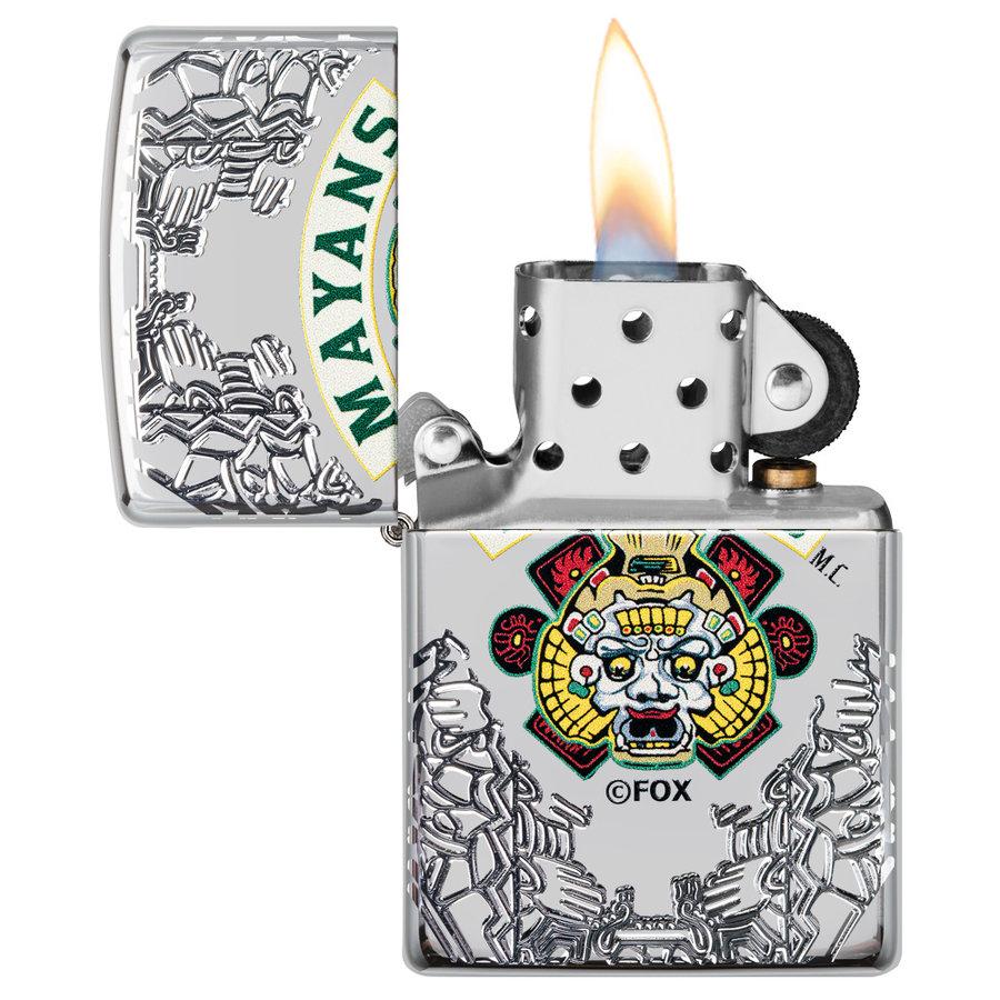 Aansteker Zippo Armor Case Mayans