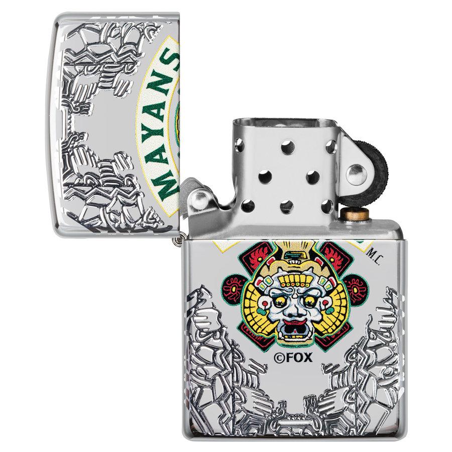 Lighter Zippo Armor Case Mayans