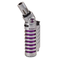 Aansteker Bugatti Vulcan Chrome Satin Purple