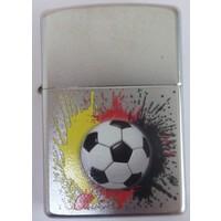 Lighter Zippo Soccerball Splat Design