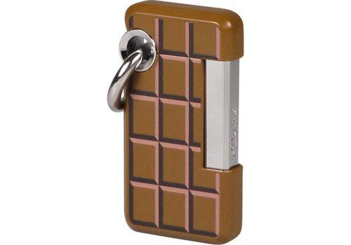 Aansteker S.T. Dupont Hooked Brown Choco
