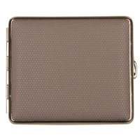Cigarette Case Nappa Leather Grey