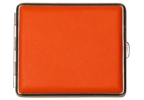 Cigarette Case Nappa Leather Orange