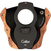 Cigar Cutter Colibri Cut Wood Black/ Light Burl