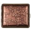 vom Hofe Sigarettenkoker Nappa Leather Bronze Flowers
