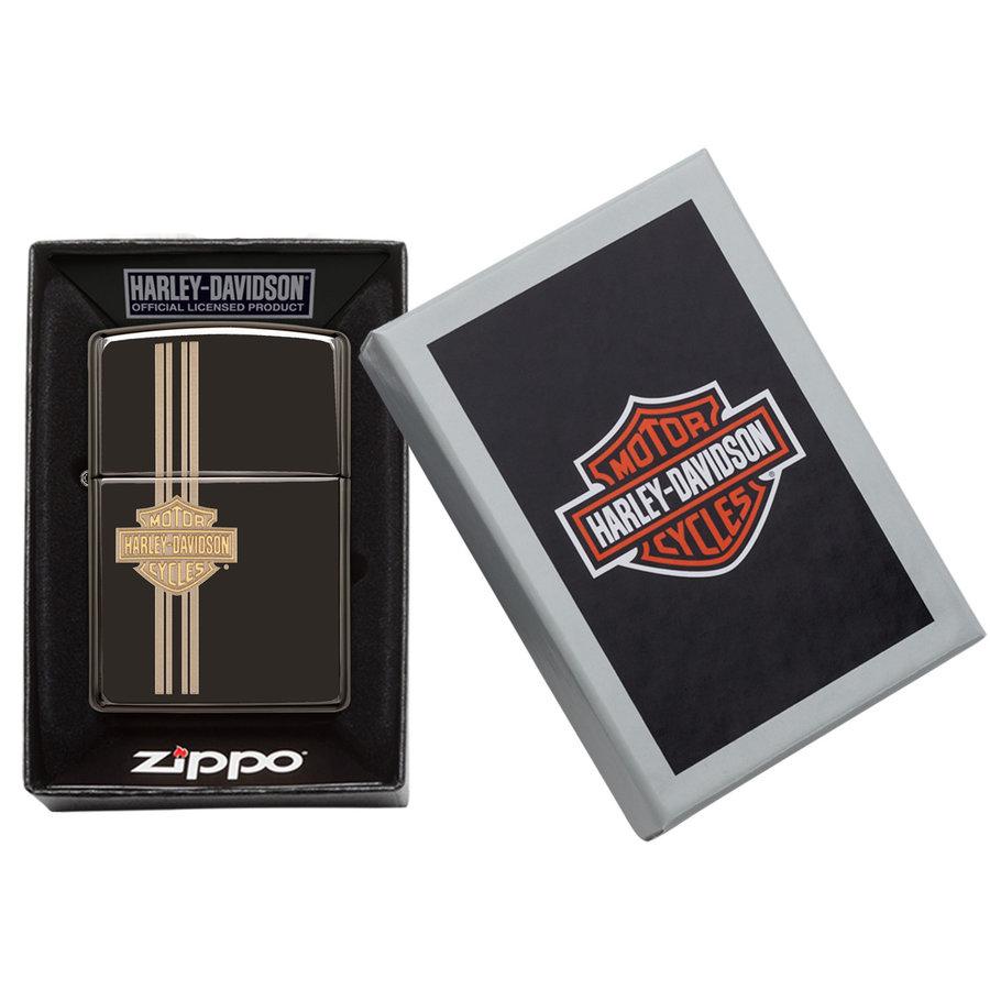 Aansteker Zippo Harley Davidson Stripes