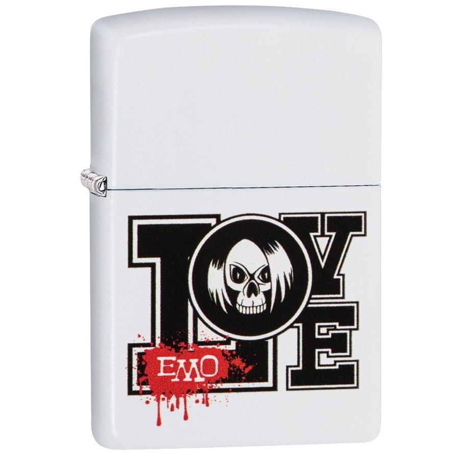 Lighter Zippo EMO Love Design
